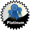 title=The Favourite Cacher:  Awarded for acquiring 25 or more favourite points on hidden caches  |  Flash and Grubbly has 104 and needs 46 more to go up a level