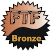 title=The FTF Addict:  Awarded for being the first cacher to find 15 or more caches  |  Flash and Grubbly has 16 and needs 4 more to go up a level